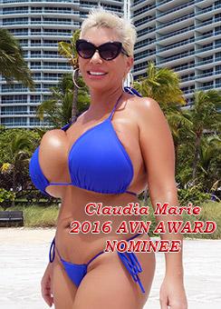 Claudia Marie 2016 AVN Award Niominee