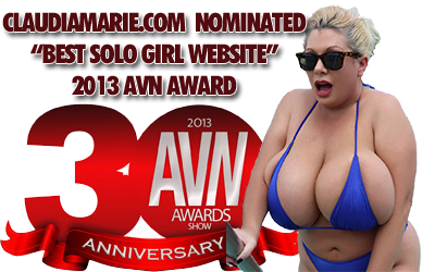 Claudia Marie AVN Award Nominee