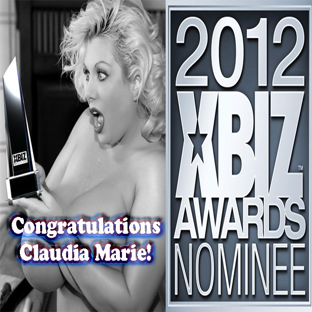 Claudia Marie XBiz Award Nominee