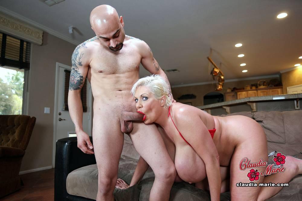 Big Tits Claudia Marie Starring In Rough Tit Fuck-9145