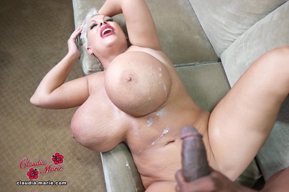 image Claudia marie giant fake tits amp
