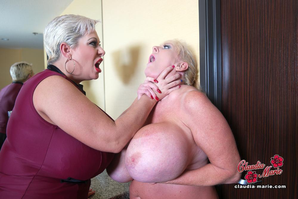 Claudia marie destroys kayla kleevage