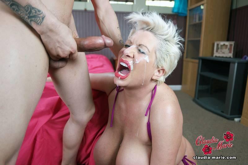Big Tit Whore Fucked Rough - Claudia Marie Huge Saggy Fake -4080