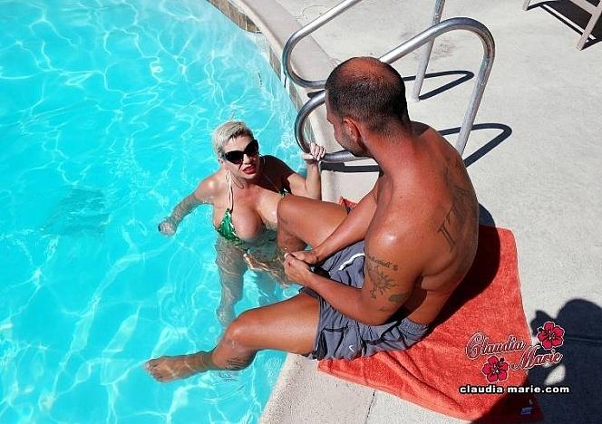 Big Tits Pool